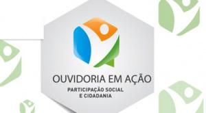 Logo do programa Ouvidoria em Ação